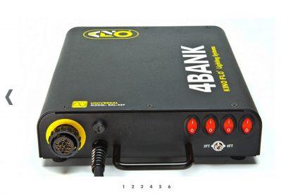 KINOFLO 4ft 4Bank System 230VAC