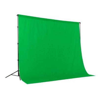 Material Chroma Key Green 3x3.65m