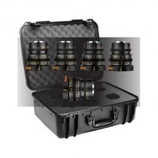 Veydra Mirrorless Mini Prime 5 lens Set with Case: 12 16 25 35 50mm T2.2