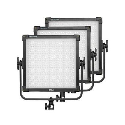 F&V Z400 UltraColor 3-light Kit Daylight Panel Lights