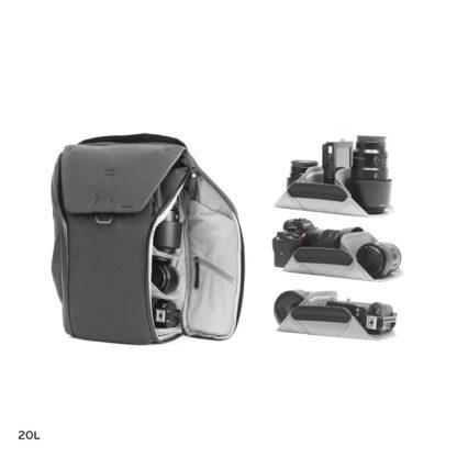 Peak Design Everyday backpack v2 open