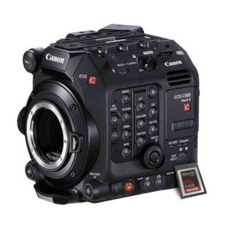 Canon EOS C500 Mark II 512GB Cfexpress kit