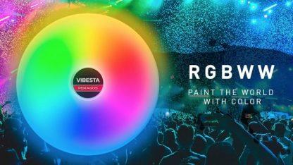 Peragos Disk 30C Color RGBWW Soft LED light