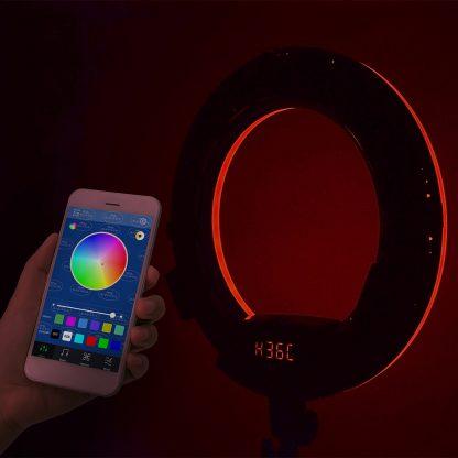 Savage Rainbow RGB Ring Light